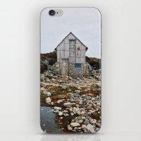 hiking iPhone & iPod Skins featuring Hiking Tasmania by Dan Grady