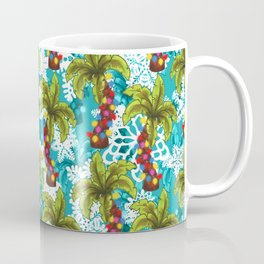 Tropical Christmas Coffee Mug