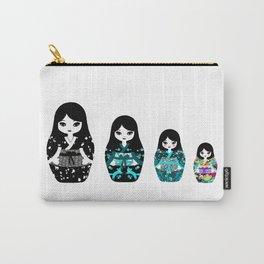 Japanese Matriochka Carry-All Pouch