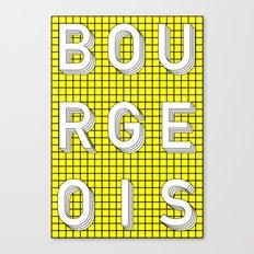 Bourgeois Canvas Print