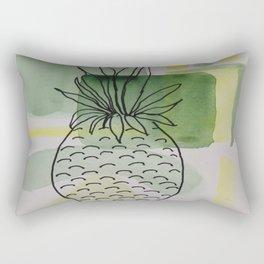 Pineapple Abstract Rectangular Pillow