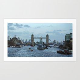LondonBridge Art Print