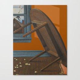 mishap Canvas Print