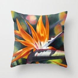 Bird of Paradise 20 Throw Pillow