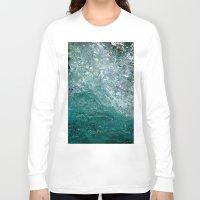splash Long Sleeve T-shirts featuring Splash by Leah McPhail