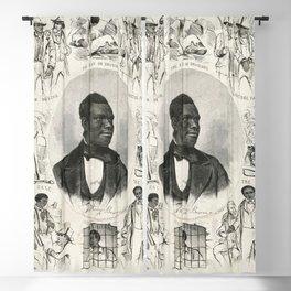 Anthony Burns (1855) Blackout Curtain