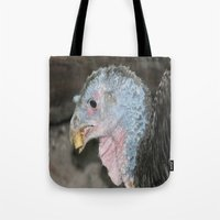 turkey Tote Bags featuring Turkey by Twilight Wolf