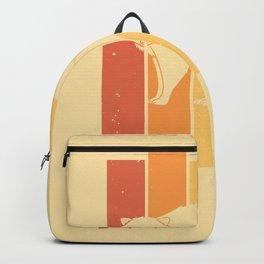 Raccoon Sweet Little Bear Vintage Retro Backpack