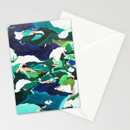 Night Pools Stationery Cards