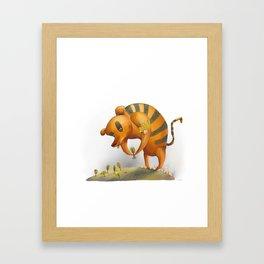 Bearger Framed Art Print