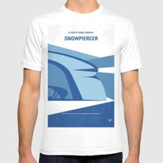 No767 My Snowpiercer minimal movie poster Mens Fitted Tee MEDIUM White