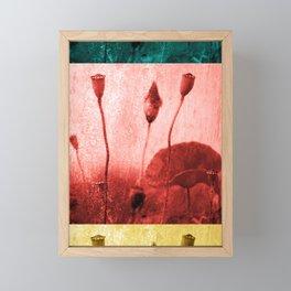 Poppy Art Image Framed Mini Art Print