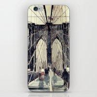 takmaj iPhone & iPod Skins featuring Brooklyn Bridge by takmaj