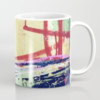 graffiti Mugs featuring Graffiti  by Danielle DePalma