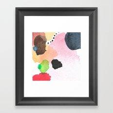 Abstract Mini #26 Framed Art Print