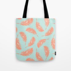 Summer feathers Tote Bag