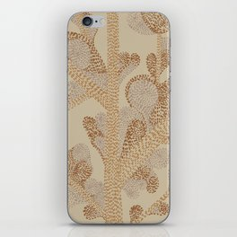 earthy swirls iPhone Skin