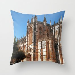 Batalha monastery, Portugal (RR 190) Analog 6x6 odak Ektar 100 Throw Pillow
