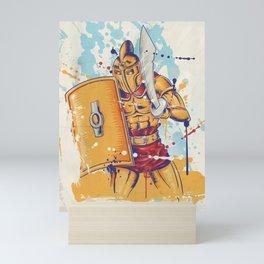 roman warrior Mini Art Print