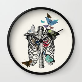 Anatomy 101 - The Thorax Wall Clock