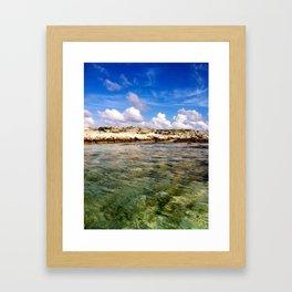 Caribbean Colors Framed Art Print