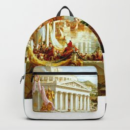 Cole Thomas The Consummation The Course of the Empire Backpack