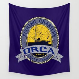 Orca Charters Wall Tapestry