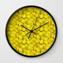 When life gives you lemons, make a pattern Wall Clock
