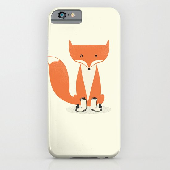 A Fox With Socks iPhone & iPod Case