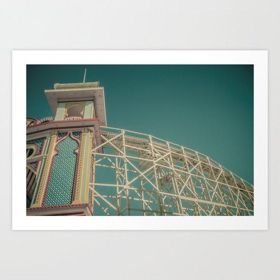 Luna Park 2 Art Print