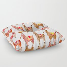 Alpacas Floor Pillow