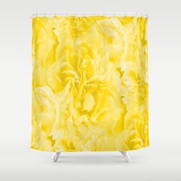 Yellow Peony Petals in Close-up #decor #society6 #buyart Shower Curtain