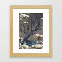 Alive in the Clouds Framed Art Print