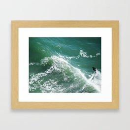 Riding the Tide Framed Art Print