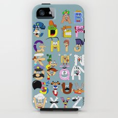 Breakfast Mascot Alphabet iPhone (5, 5s) Tough Case