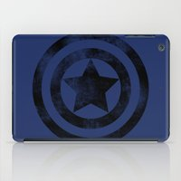 steve rogers iPad Cases featuring Steve Rogers 008 by TheTreasure