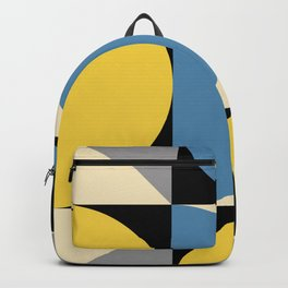 Mid Century Modern Geometric Abstract 240 Backpack