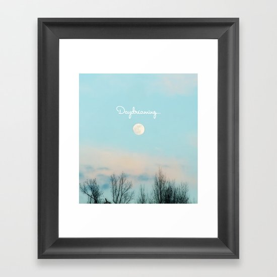 Daydreaming... Framed Art Print