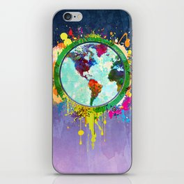 World Map - 2 iPhone Skin