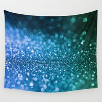 bisexual Wall Tapestries featuring Foam on the sea by Better HOME