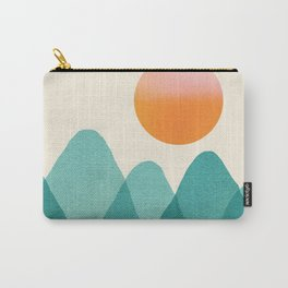 Abstraction_Mountains_SUNSET_Landscape_Minimalism_003 Carry-All Pouch