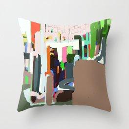 Santa Teresa, Rio de Janeiro Throw Pillow