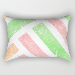 Tutti Frutti Stripes Rectangular Pillow