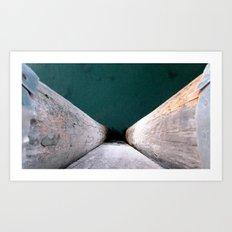 midnight waters Art Print