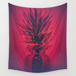 PINEAPPLE RED Wall Tapestry