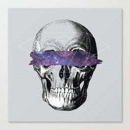 Don't Look // Anatomy x Geometry Canvas Print