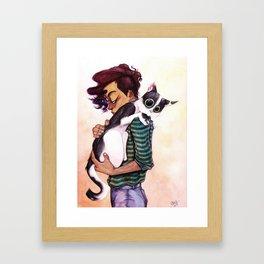 Babycat Framed Art Print