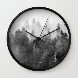 Forest Melody - Redwood National Park Wall Clock