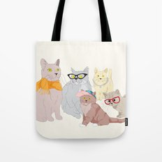 Accessory Cats Tote Bag