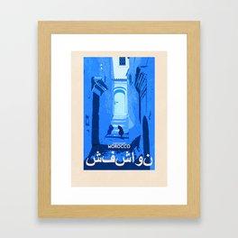 Morocco - Chefchaouen Framed Art Print
